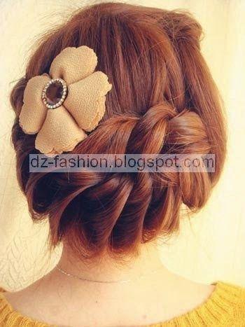 عمل تسريحات شعر بسيطة بالصور Dz Fashion Hair Pictures Easy Hairstyles Hair Styles