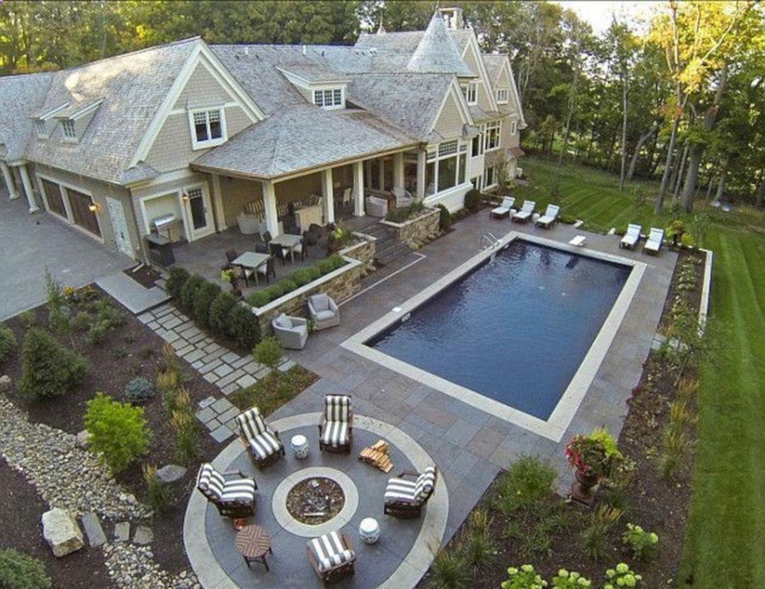 44 Incredible Pool Design Ideas For Your Home Backyard Freshouz Com Dream Backyard Backyard Patio Backyard