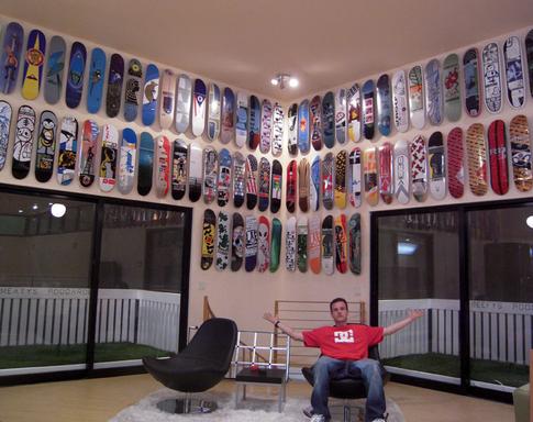 skateboard wall decks quora hang way deck pack garage