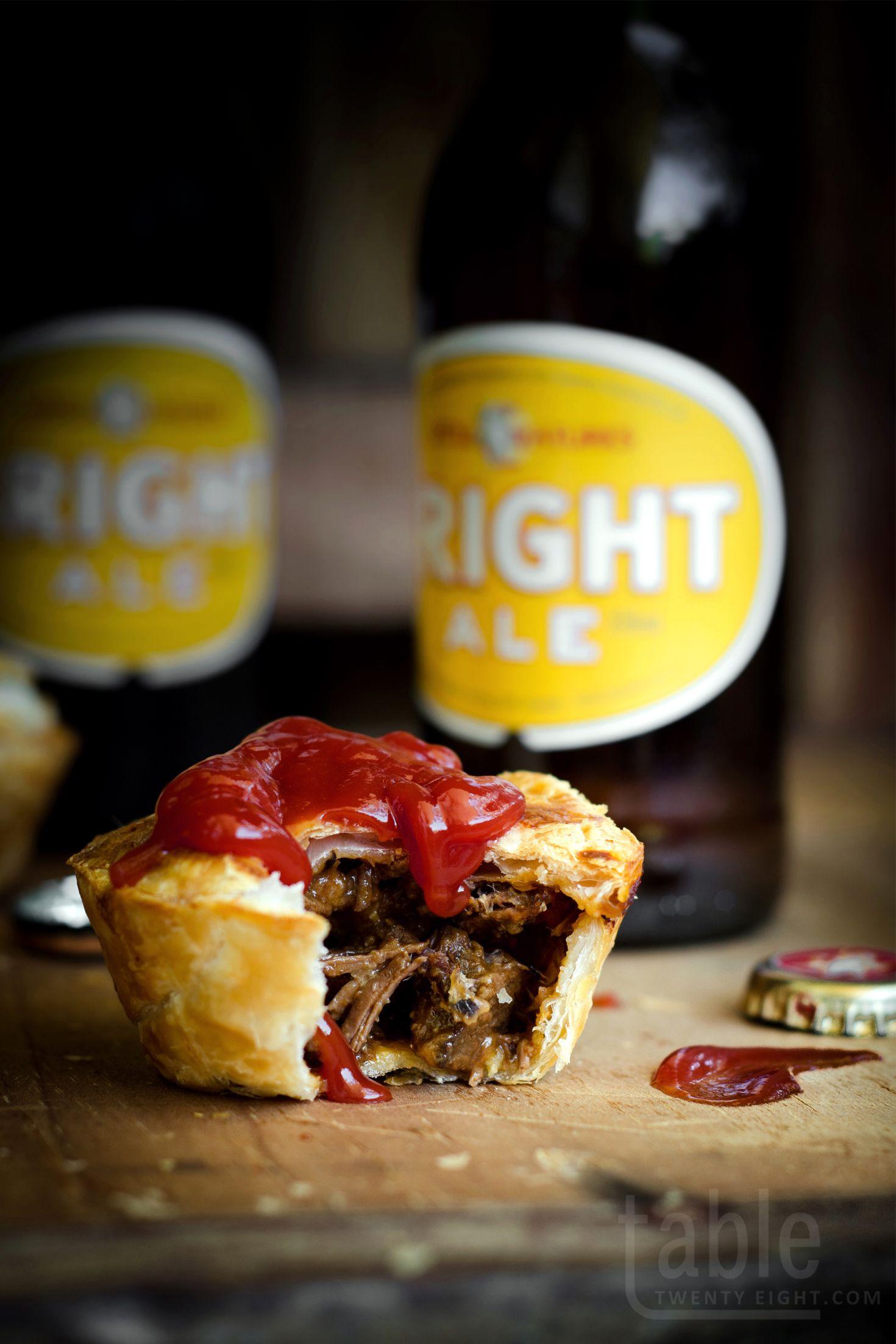 mini steak, onion & ale pies | table twenty eight | Ale ...