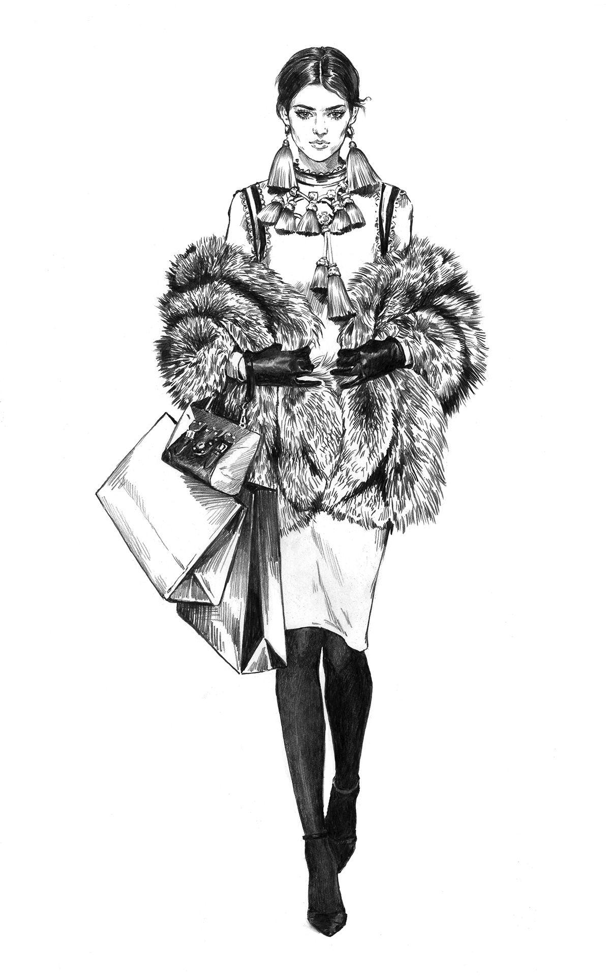 Photo of Fashion Illustration. Part 15.
