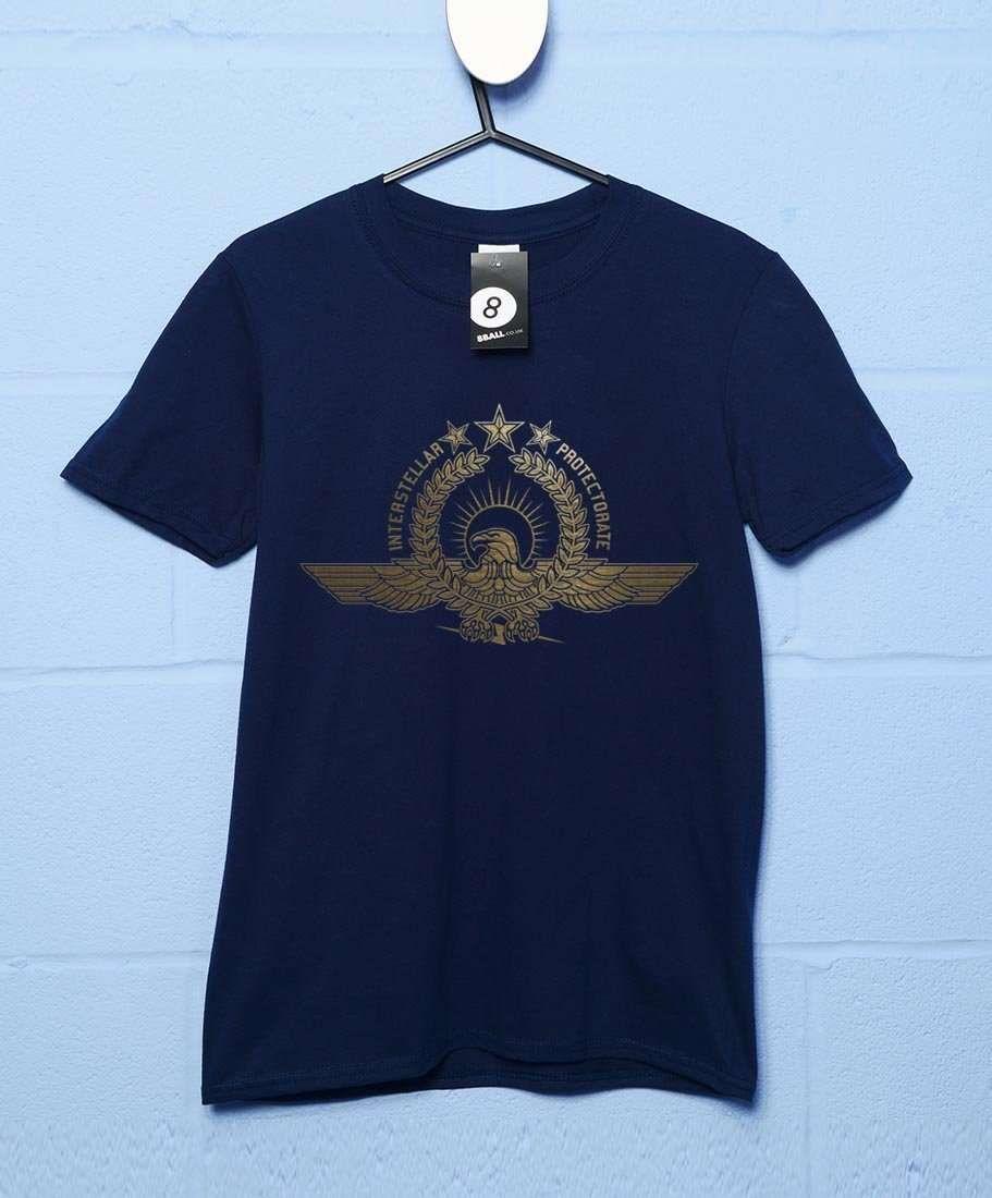 UN Interstellar Protecotrate T Shirt - Navy / Large