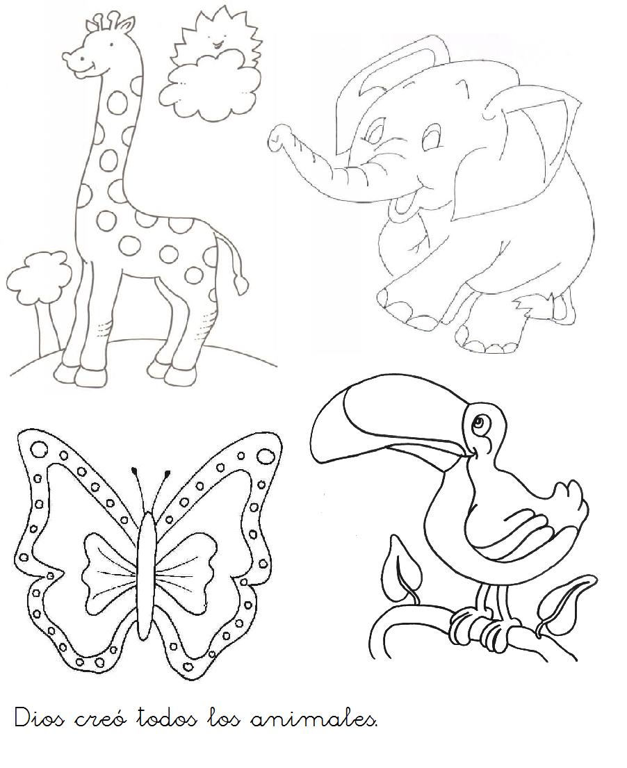 Dibujos De La Creacion De Dios Para Pintar - Get Yasabe