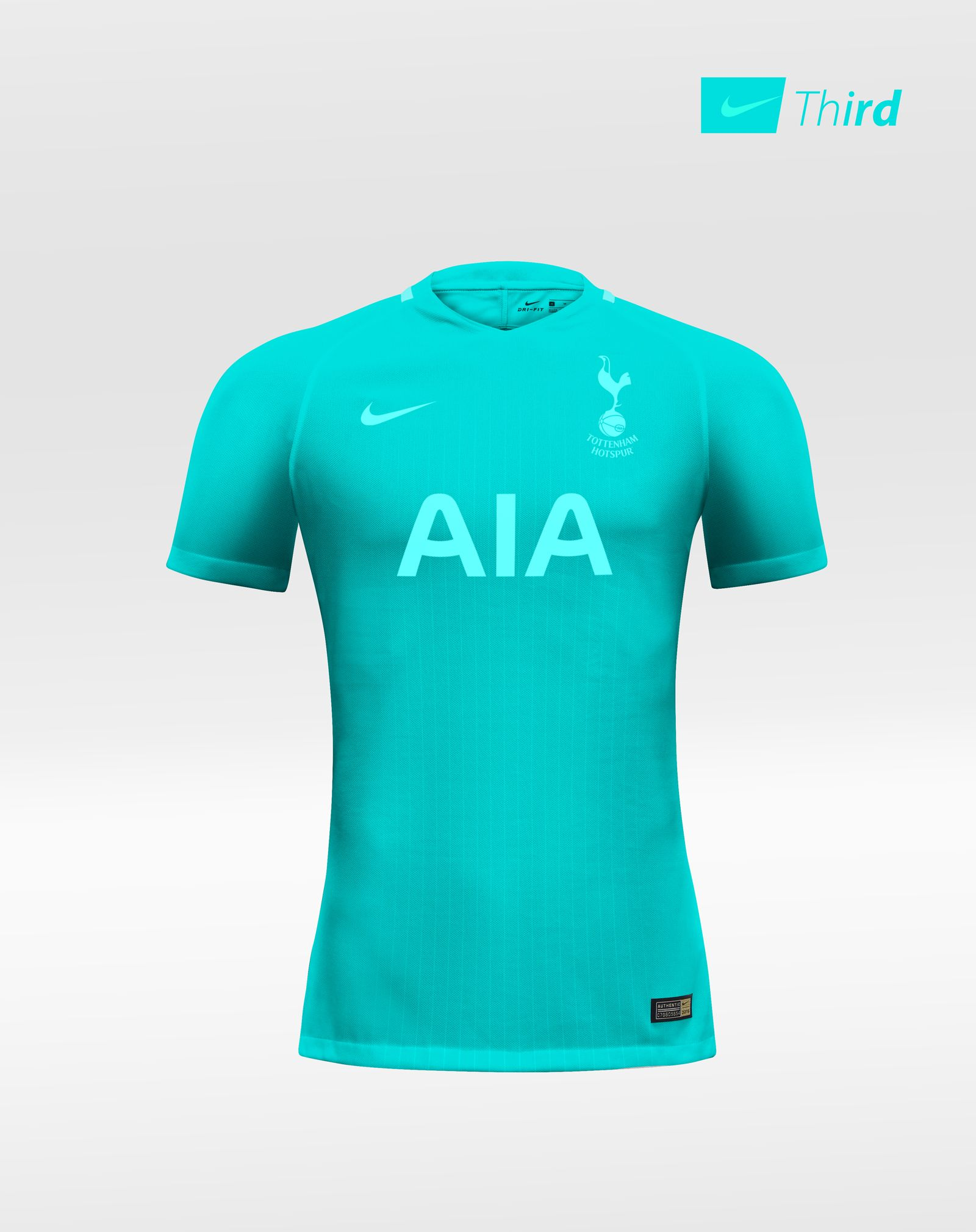 Tottenham Hotspur FC kits with Nike as an apparel. I personally designed  them as a passion of football. f78c53620