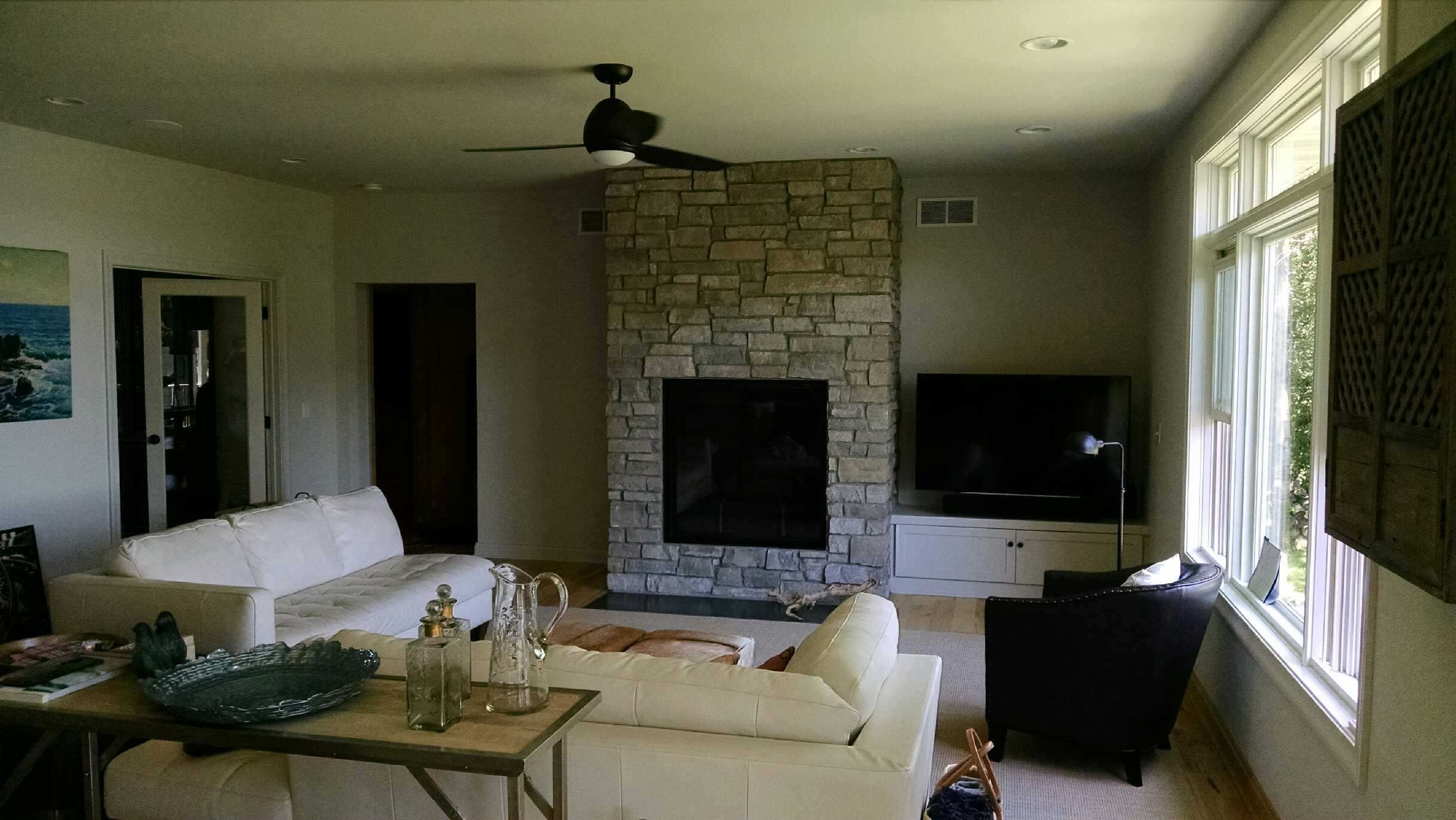 great american fireplace installed this renaissance rumford wood