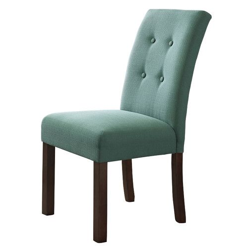 Homepop Republic Upholstered Parsons Chair Dining Chairs Upholstered Side Chair Transitional Dining Chairs