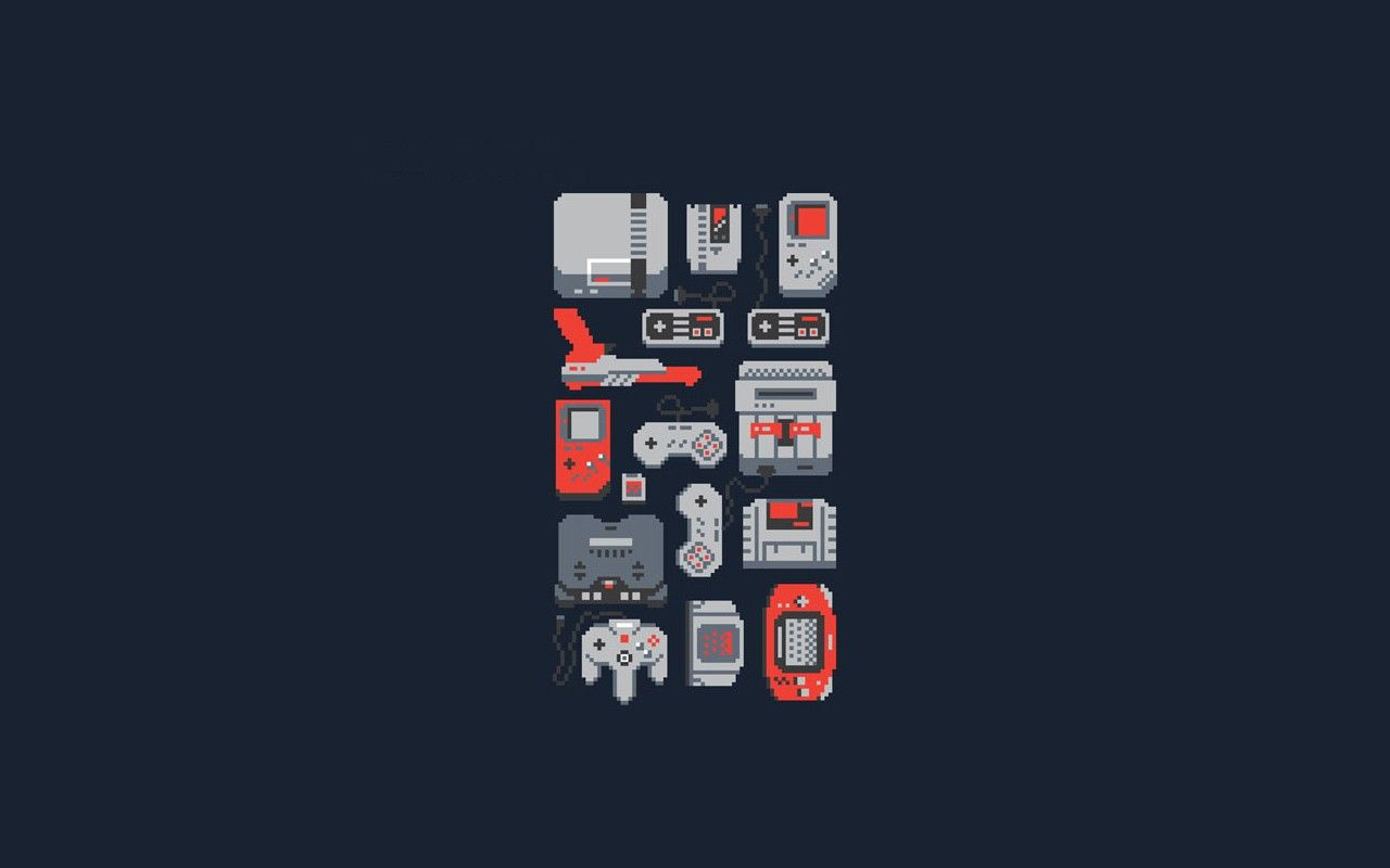 retro game console wallpaper - photo #7