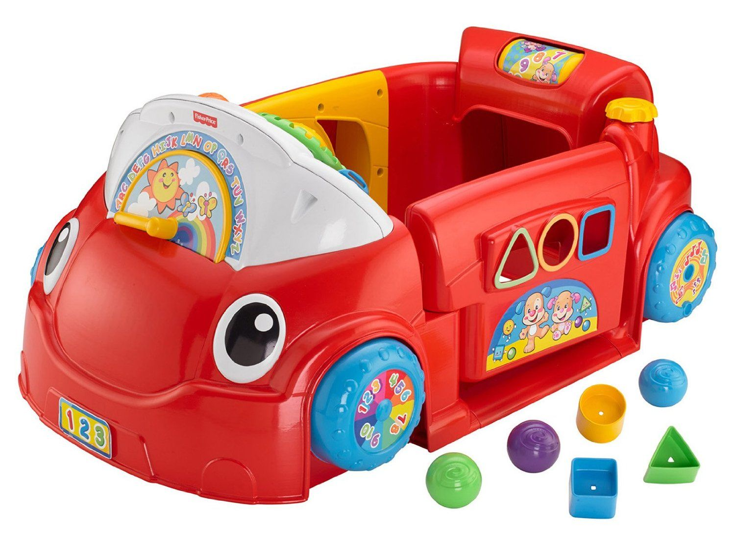 Cool car toys  FisherPrice Laugh and Learn Crawl Around Car  See more at