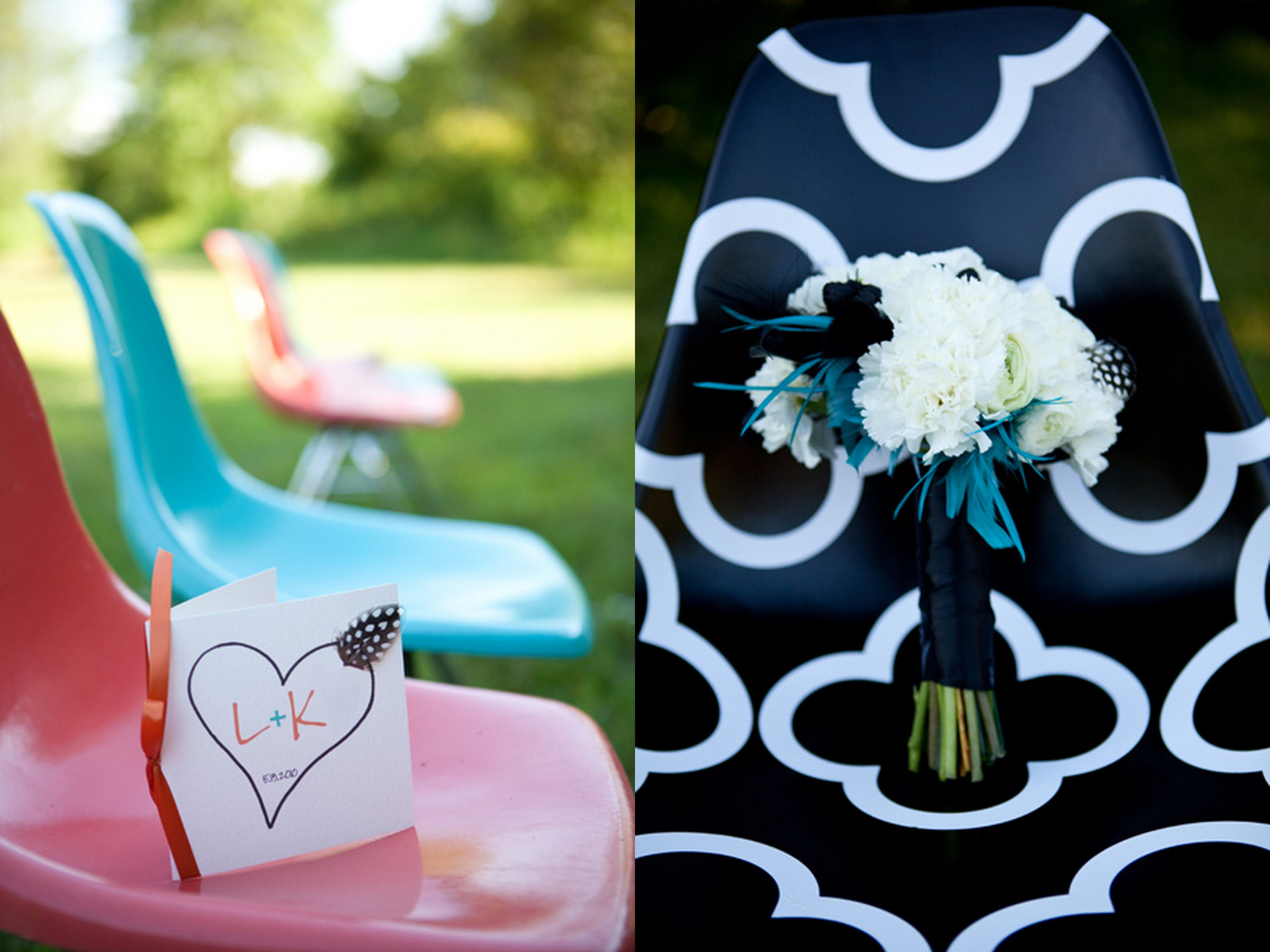 Inspired Creations 80s School Theme Wedding Inspiration Feather