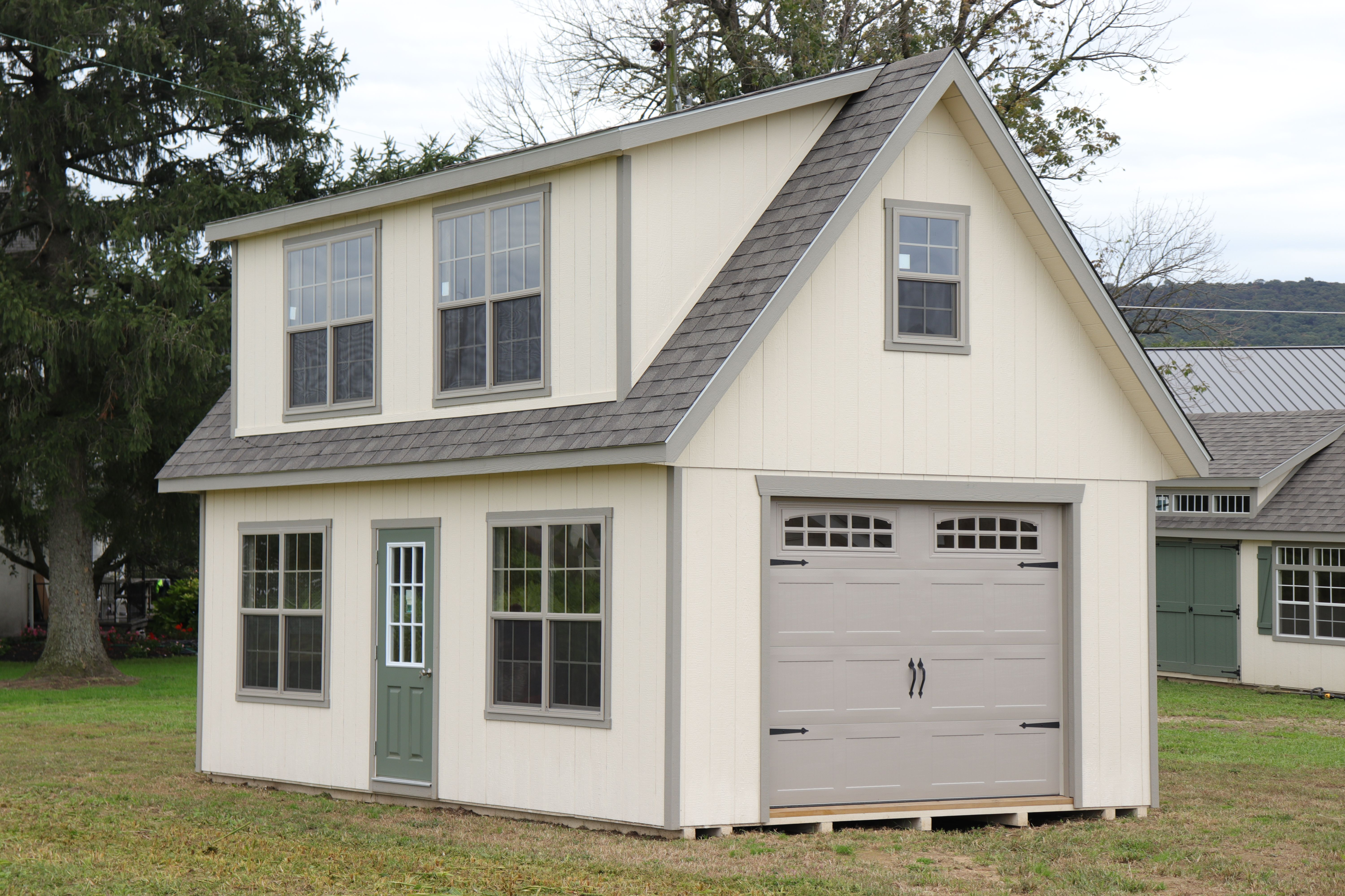 S4207 Sheds Unlimited Garage Design Shed Garage Doors