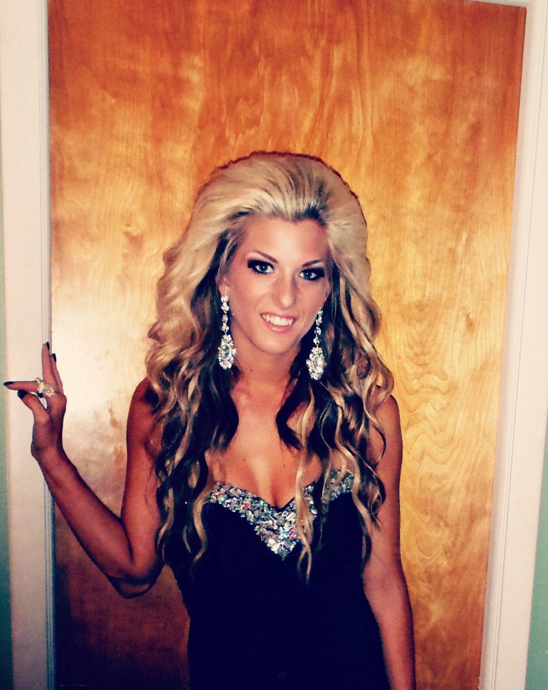 Pin By Phoenix Thomas On Prom Next Year Ideas Big Hair Big Texas Hair Bride Hairstyles