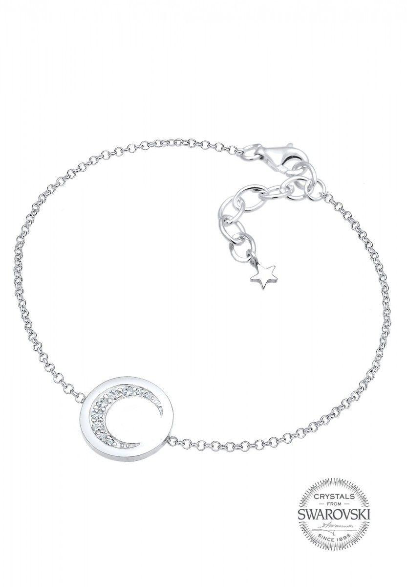 80e8b4801c1e Elli Armband Halbmond Astro Swarovski® Kristalle 925 Silber ...