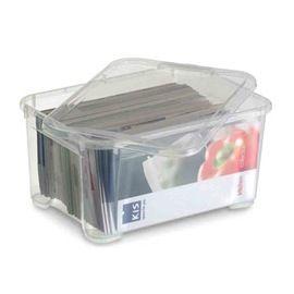 Bac De Rangement Actua 14 L Transparent Bac De Rangement Rangement Plastique Rangement