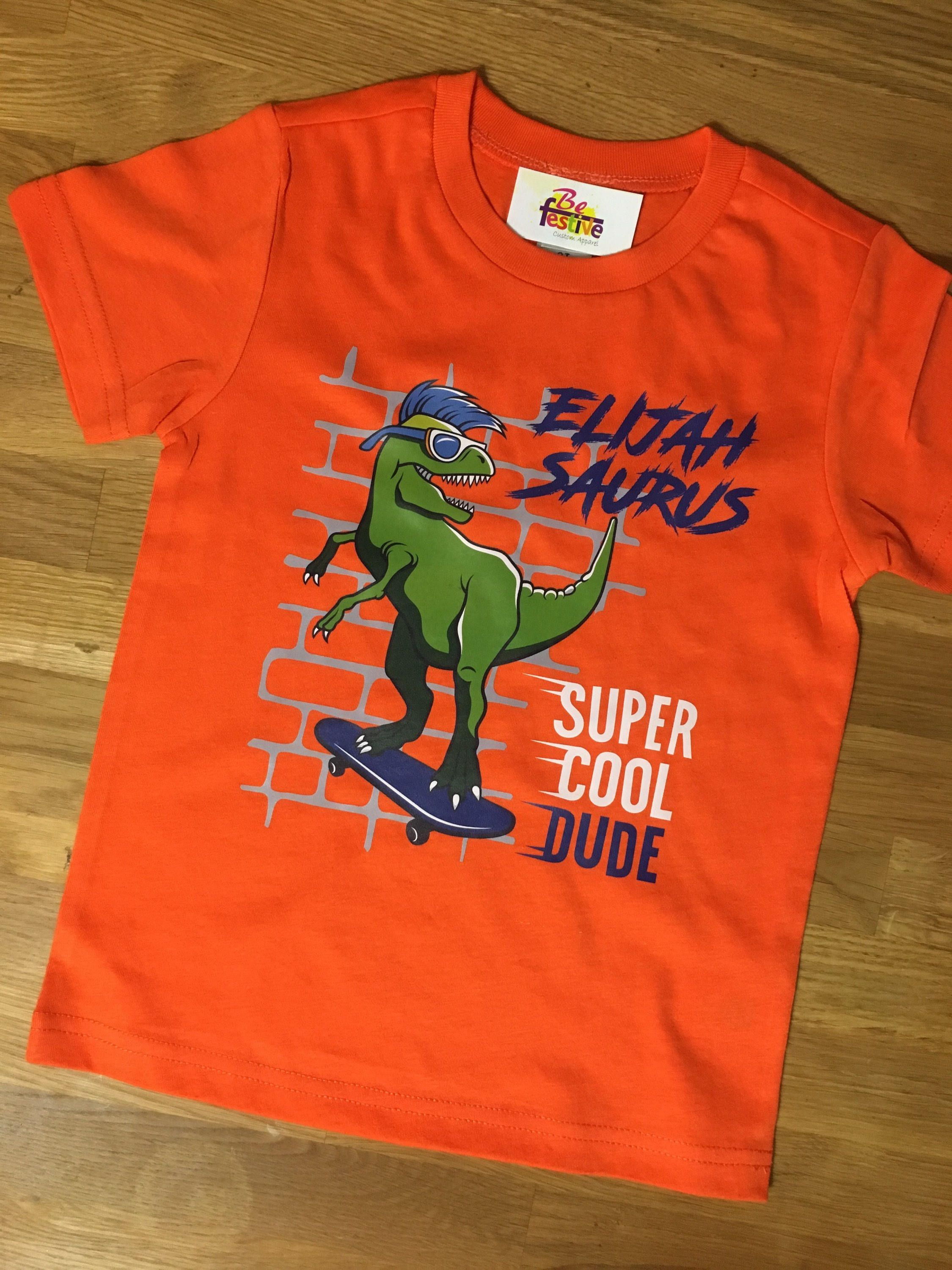 Dinosaur birthday shirt T Rex birthday shirt Dinosaur Shirt Boys