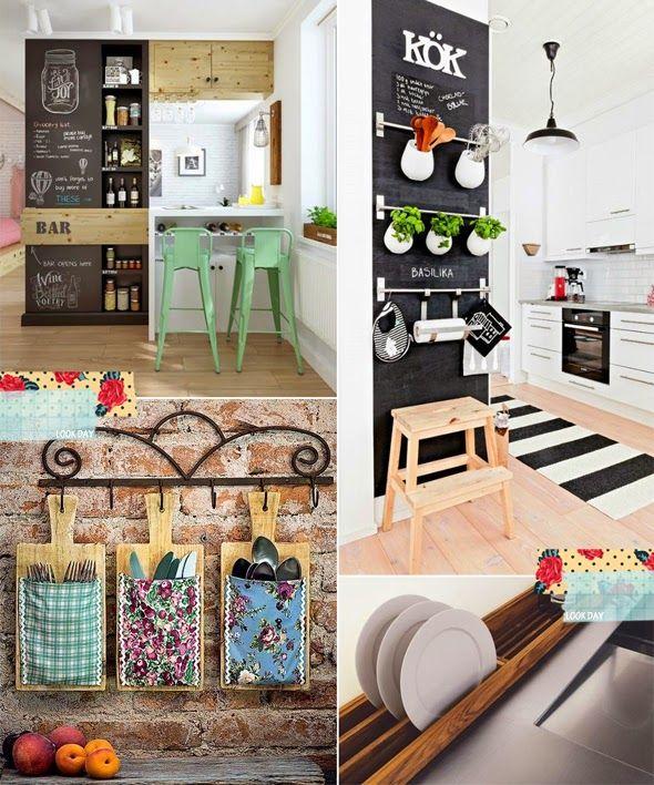 soluções para cozinhas pequenas - Pesquisa Google
