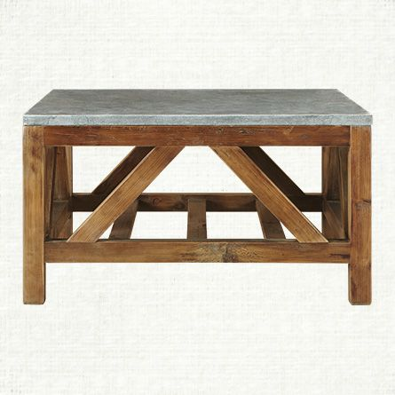 "Holden 32"" Square Coffee Table"