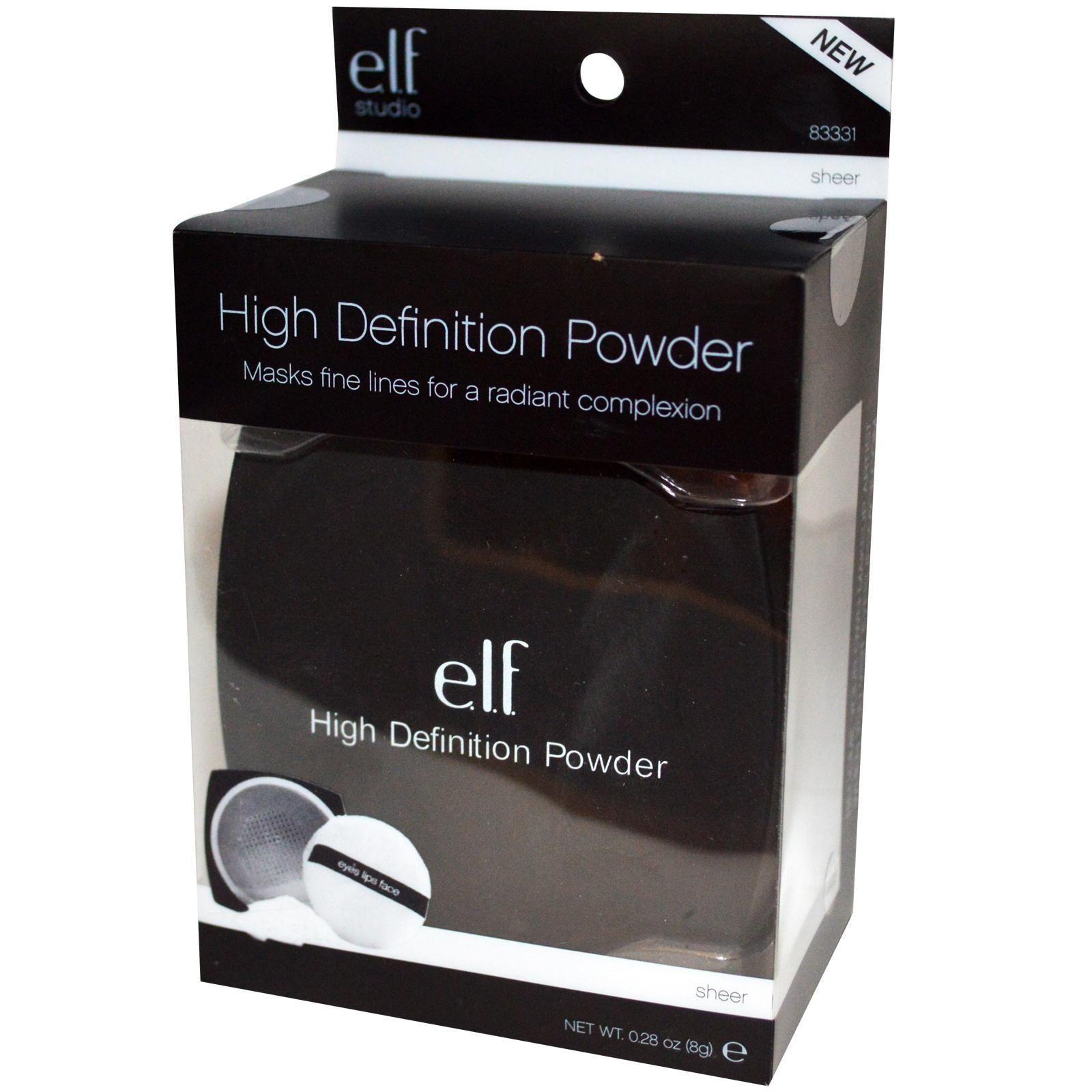 E.L.F., HD Powder, Sheer, 0.28 oz (8 g) Elf makeup, Elf