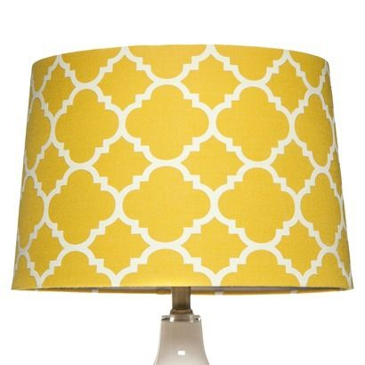 Elegant Pale Yellow Lamp Shade