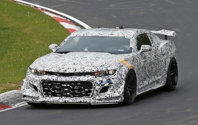 2018 Chevy Camaro Z28 Cought on Testing Car Announcements