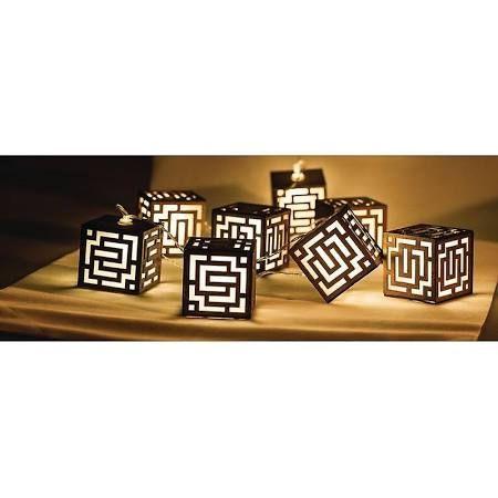 Guirlande lumineuse Cubes 10led HQ hqledslsqrwd chambre