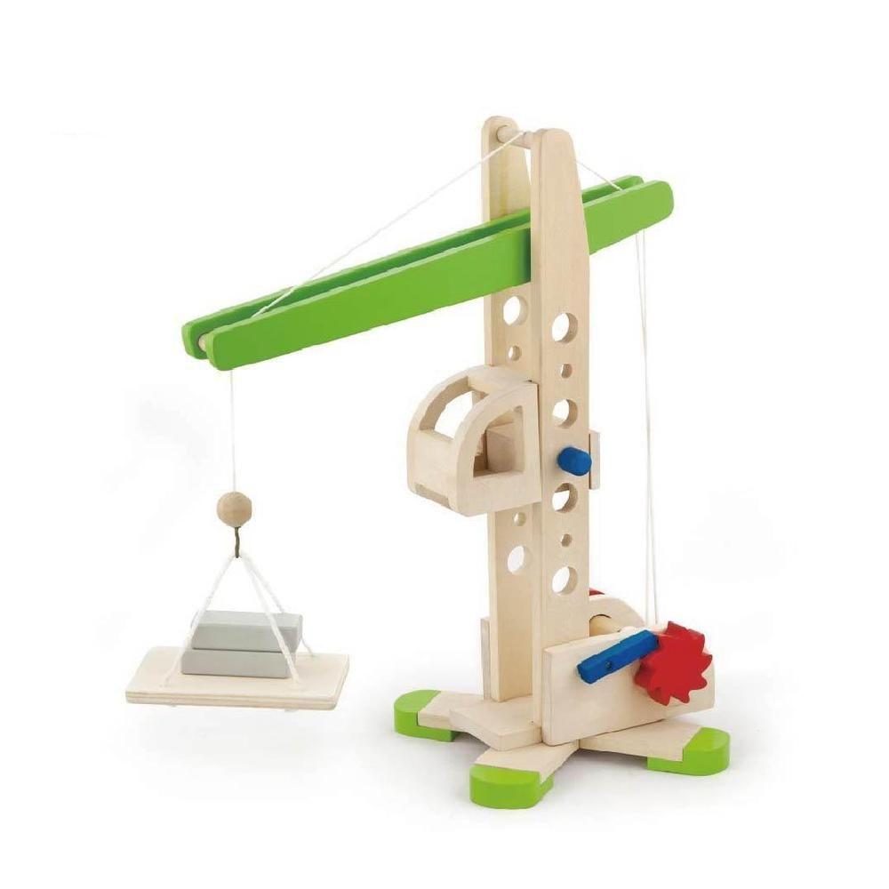 1950 toys images  Viga Wooden Childrenus Construction Crane
