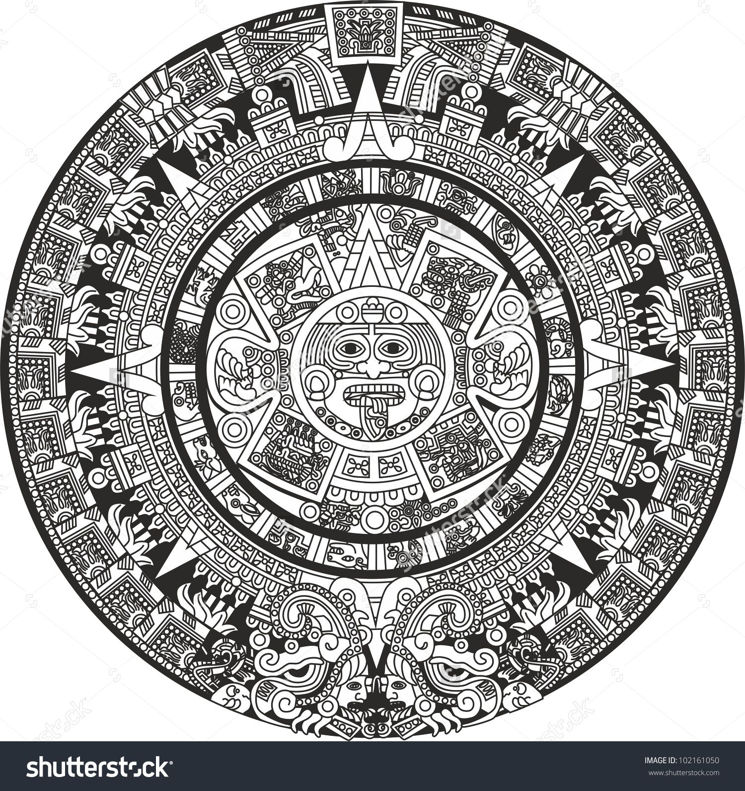 Mayan Calendar Preview Save To A Lightbox