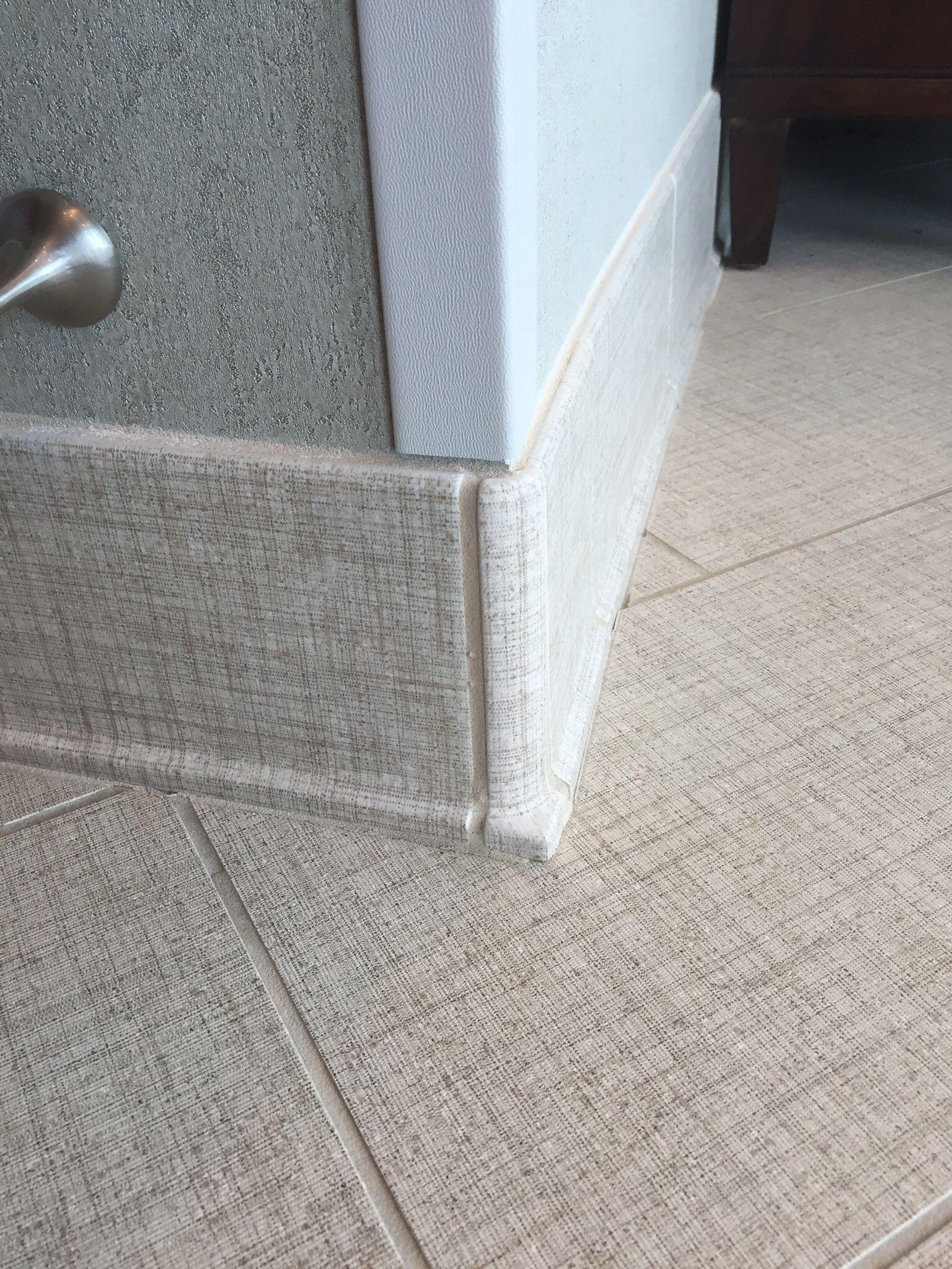 Cove Base Detail Daltile Exhibition Series Ceramic Floor Tile