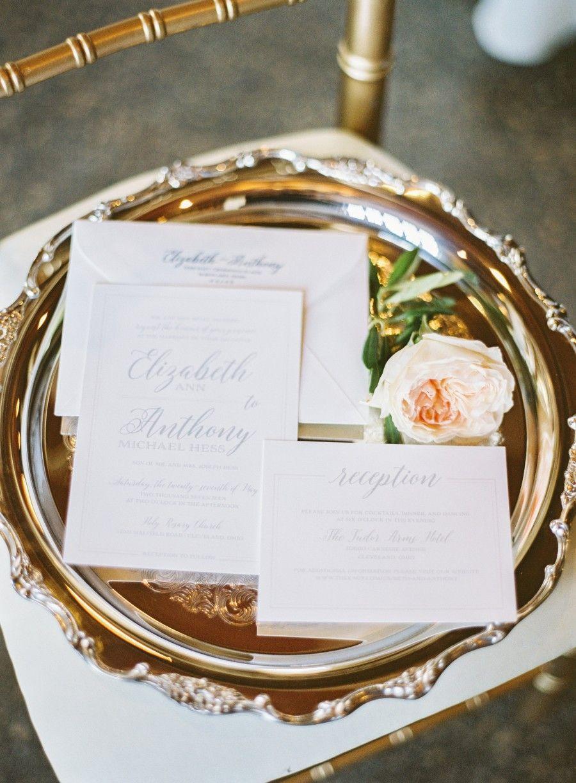 Classic Neutral Tone Wedding Invitations Meg Morrow Fine Paper