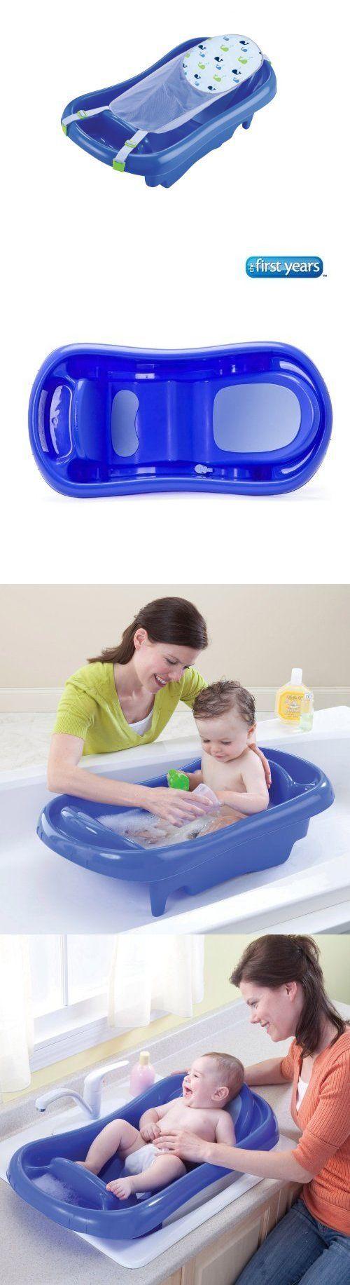 Newborn Bath Tub Infant Toddler Bath Tub Mesh Sling Wash Soft Pads ...