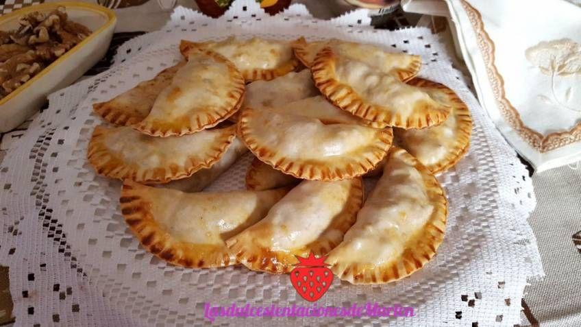 Empanadillas De Manzana Nueces Y Canela En La Comunidad De Cocina