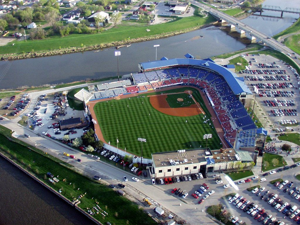 Principal Park, formerly Sec Taylor Stadium, on the fork ...