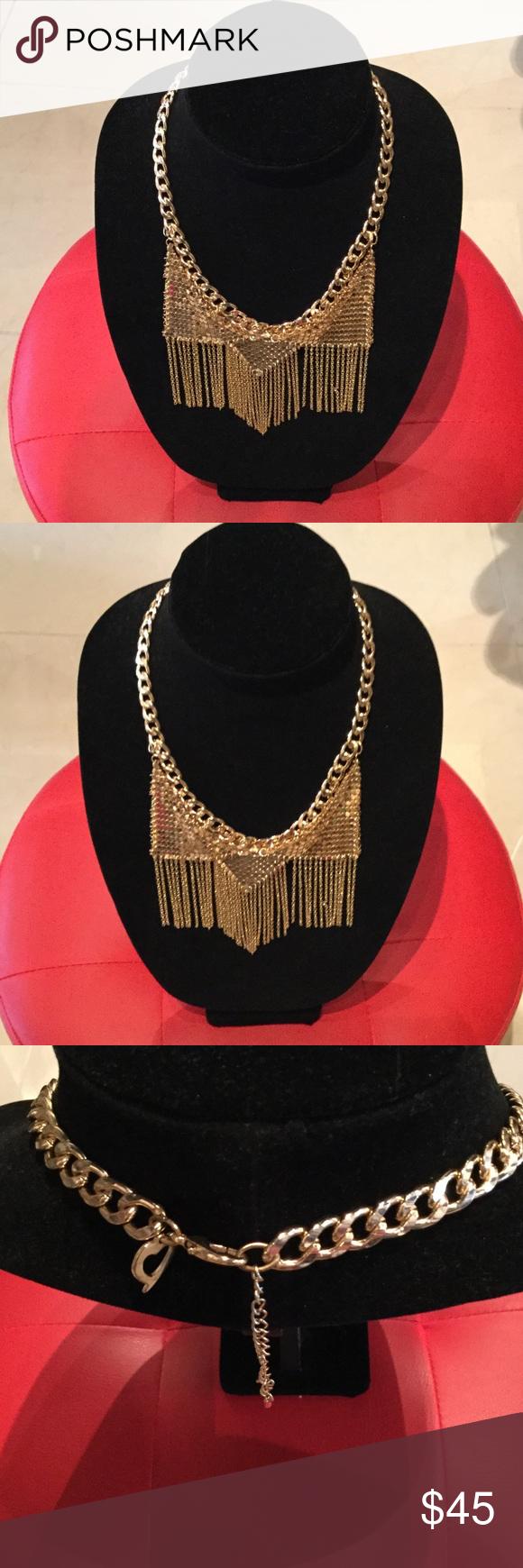 💥💥💥UNIQUE NECKLACE💥💥💥 Vintage  GOLD Necklace, gorgeous, spectacular and unique Jewelry Necklaces