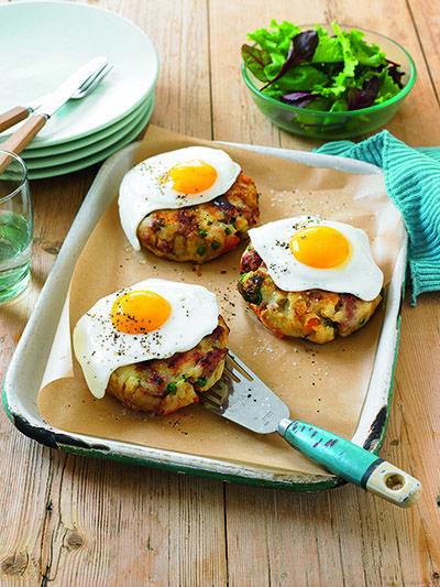 Bubble and squeak - Bubble and squeak can be a tasty breakfast. Better yet, it's so simple to whip up in a jiffy! www.essentials.co.za