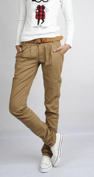 Eleganckie Stylowe Spodnie Rurki Japan 3 Kolory 3282520835 Oficjalne Archiwum Allegro Belted Pants Pants Clothes