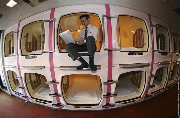 Capsule Hotels In Japan Visual Pinterest Japan Tokyo Hotels