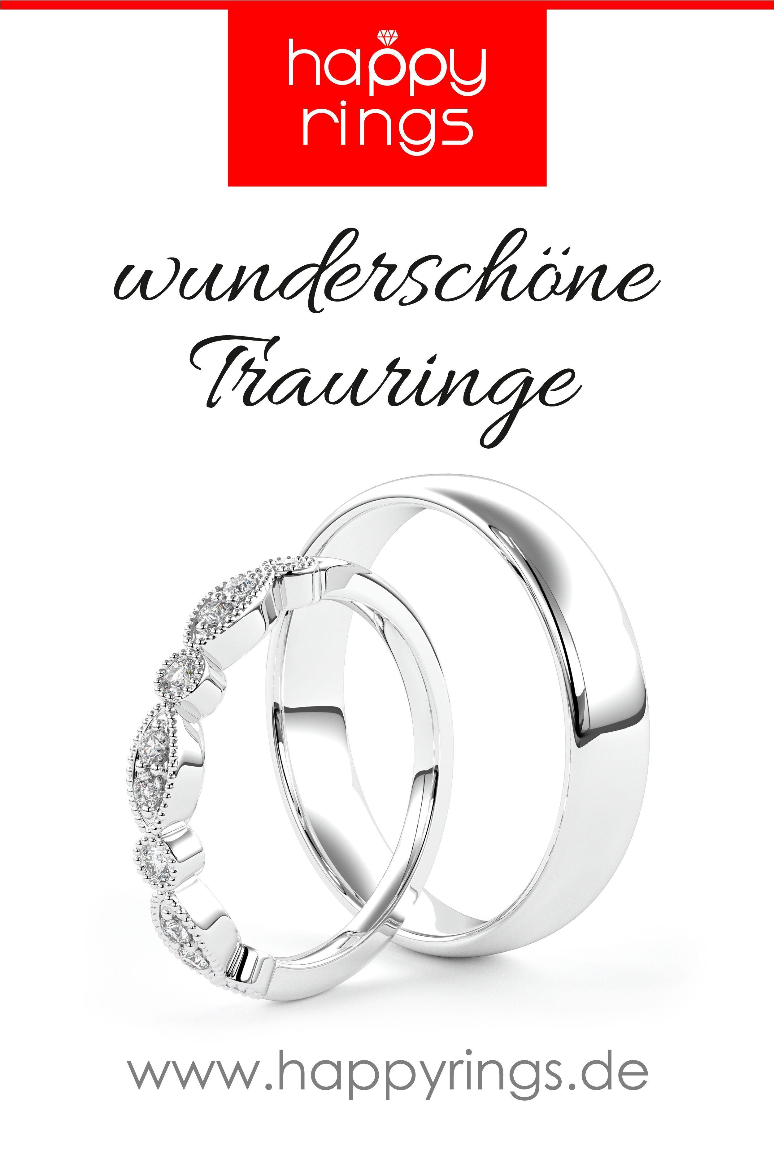 Trauringe Weißgold Happyrings,  #Happyrings #makingjewelrysilver #Trauringe #Weißgold
