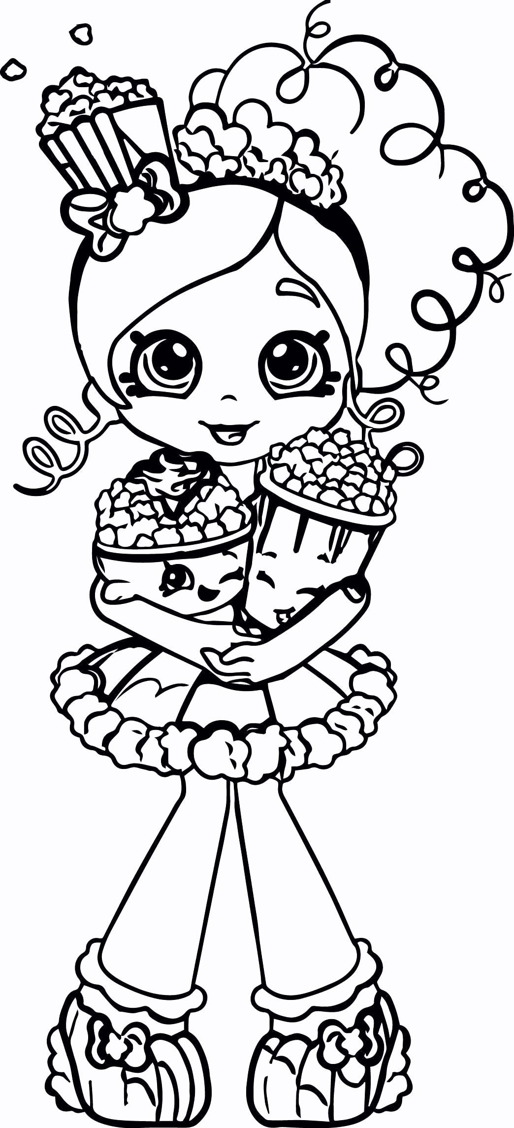 Free Shopkins Coloring Pages Printable Shopkin Coloring Pages Coloring Pages For Girls Cartoon Coloring Pages