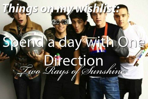 Spend a day with One Direction