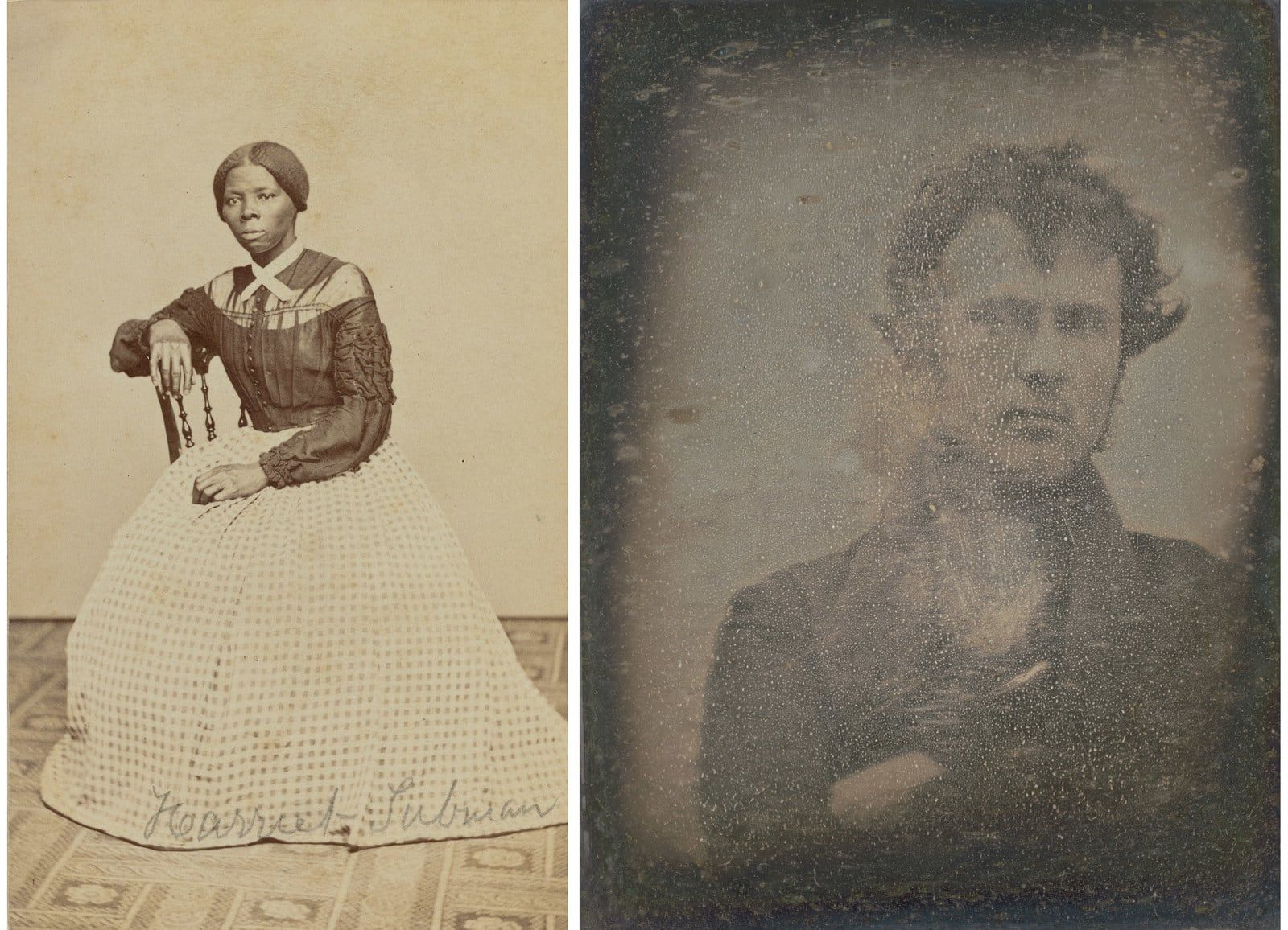 Left Benjamin F Powelson Harriet Tubman A Hitherto Unknown Carte De Visite In The Emily Howland Photograph Album 1868 Or 1869 Right Robert Cornelius