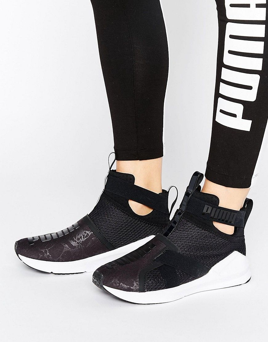 Buy it now. Puma Fierce Strap Trainers In Black - Black. Trainers by ... 1e829589e