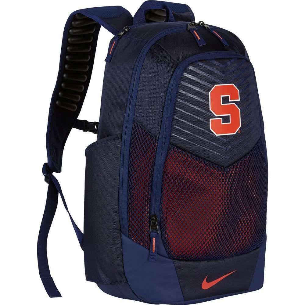... Nike Syracuse Orange NY Vapor Power Backpack BA5285 424 School Laptop  College Nike AlabamaCrimsonTide new style  NIKE JORDAN JUMPMAN ... f351efd1a7569