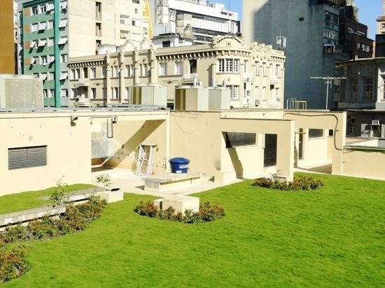Jardim Suspenso Ecotelhado Telhado verde