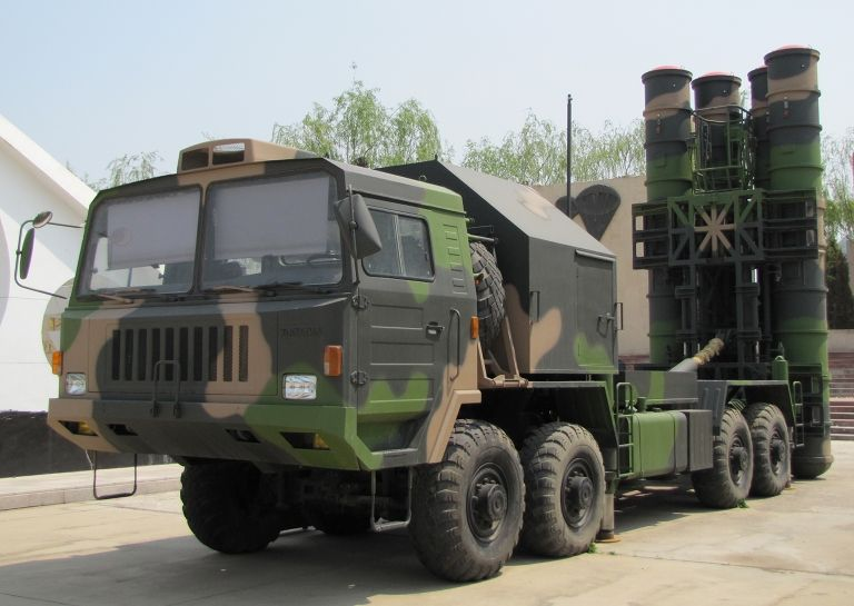 HQ-9 Surface-to-Air Missile System (China)