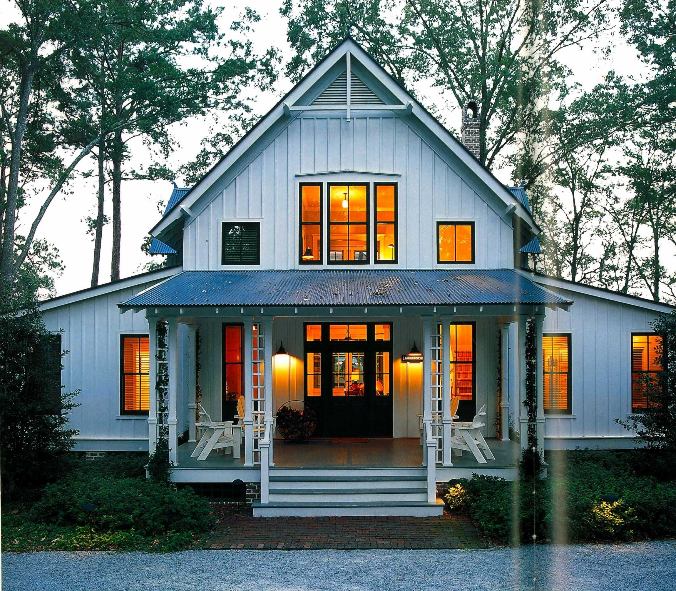 Awesome Open Concept Single Story Farmhouse Plans Modern