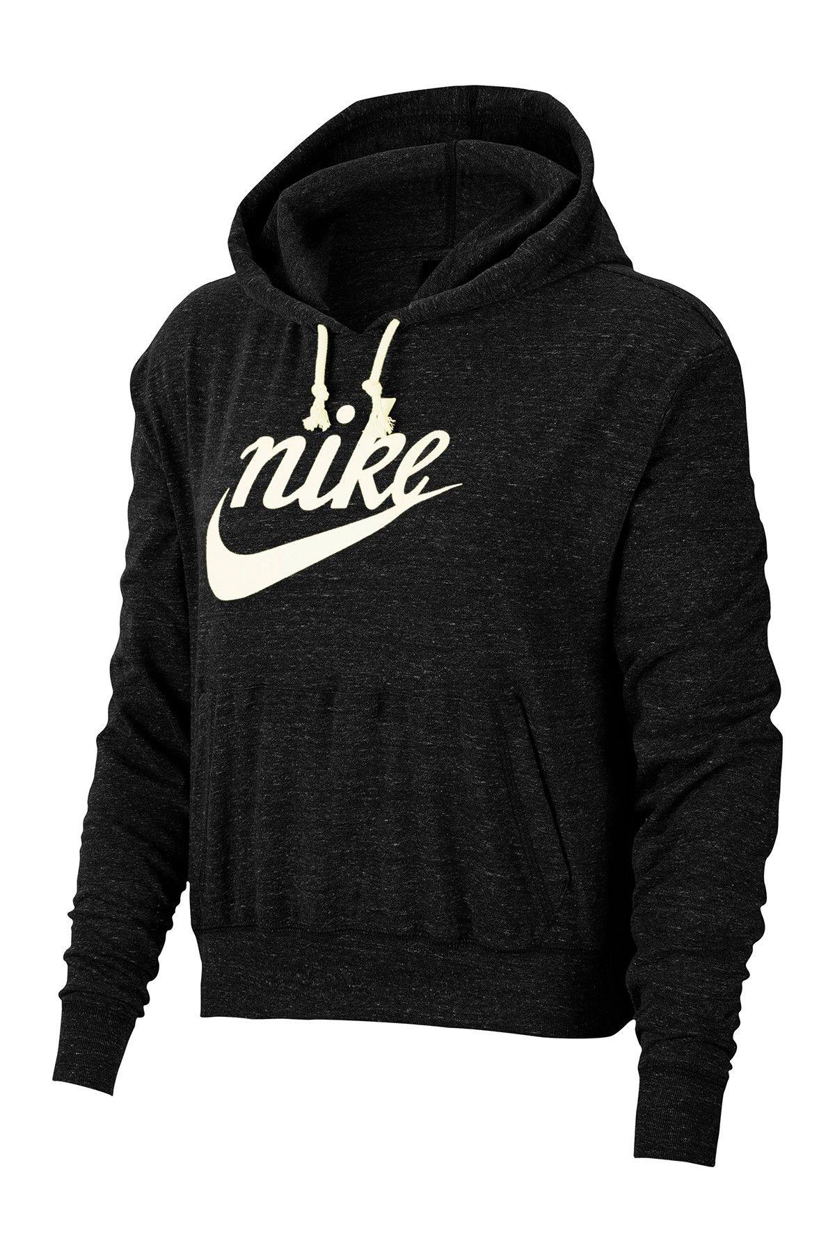 Nike Gym Vintage Pullover Hoodie Hautelook In 2020 Hoodies Vintage Pullovers Pullover Hoodie