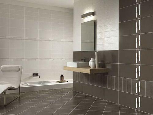 Black Slate Tiles Bathroom Wall Ideas | For The Home | Pinterest .