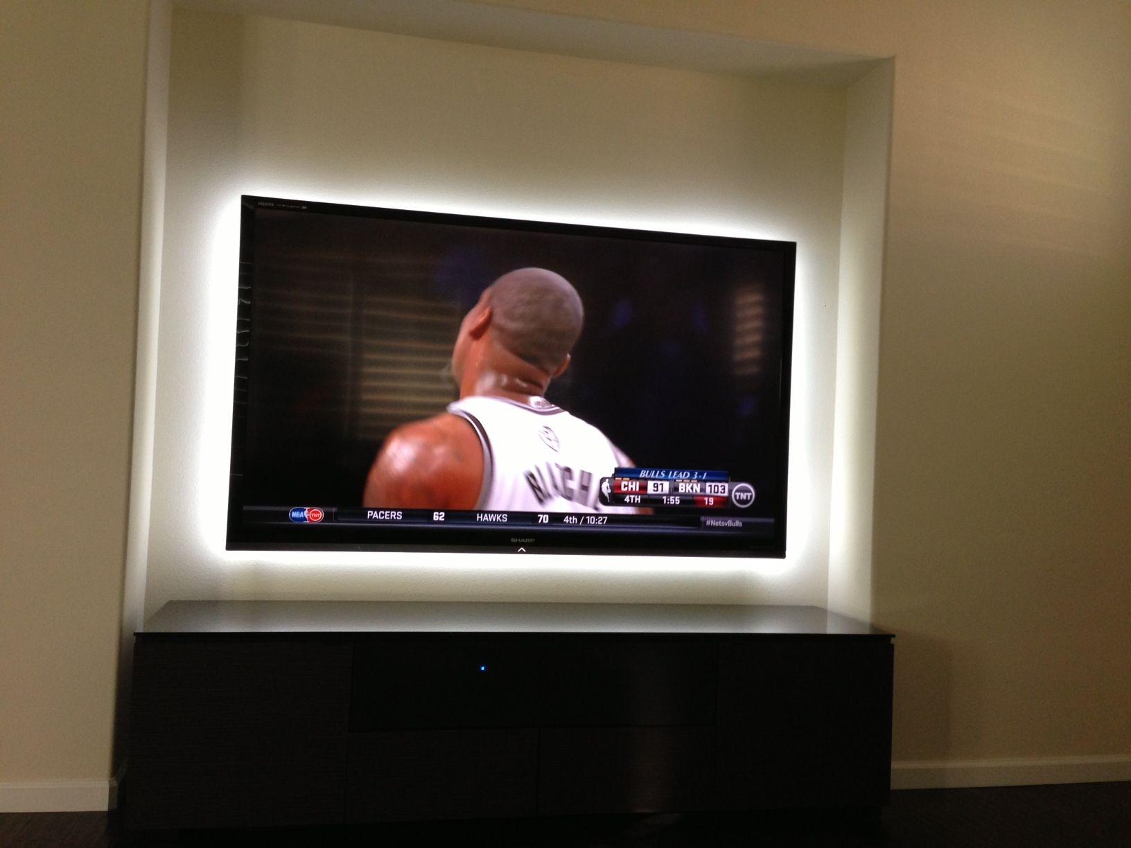 Inspired LED TV Backlighting This kit reduces eyestrain