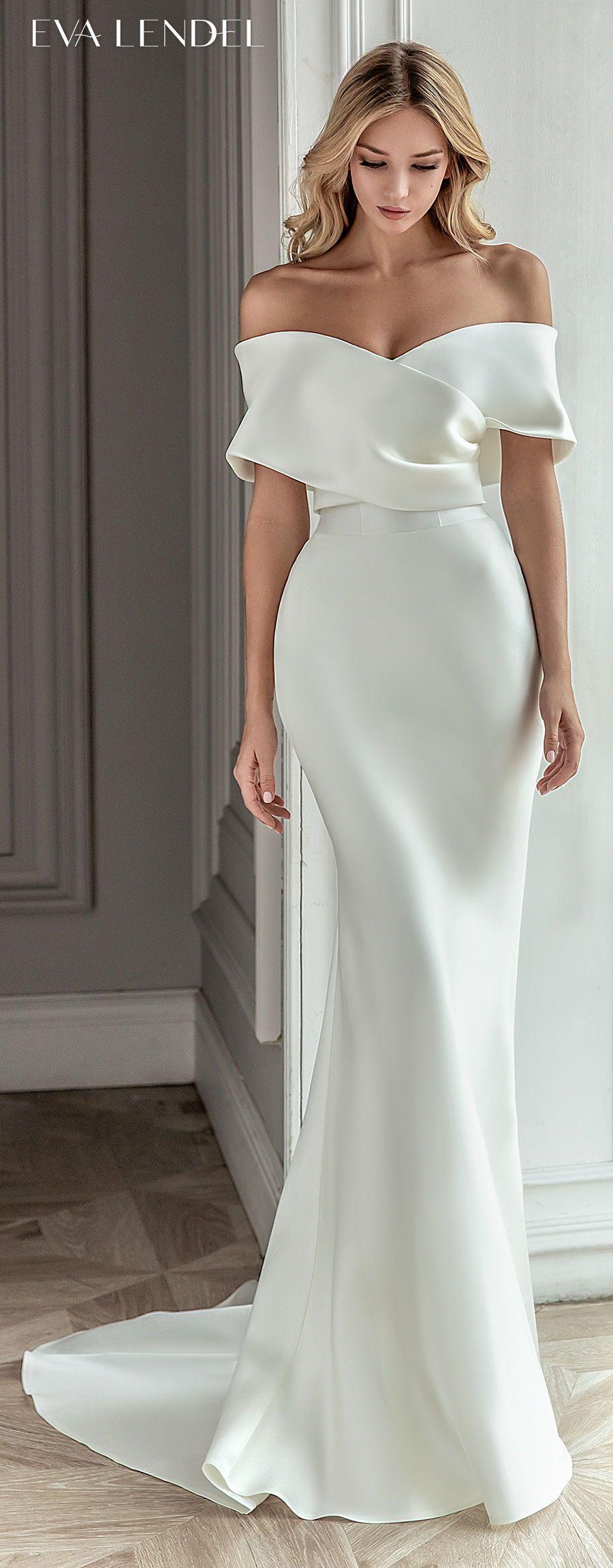 Eva Lendel 2021 Wedding Dresses — 'Less is More' Bridal Collection