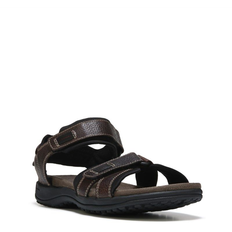 b6c4b0d9a4f8 Clarks Men s Keating Sandals (Brown Leather) - 14.0 M