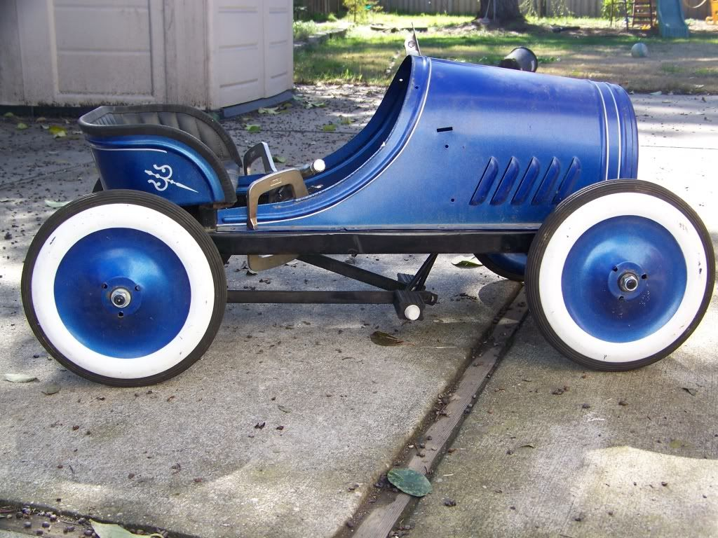 sons old pedal car build... Pedal cars, Go karts for